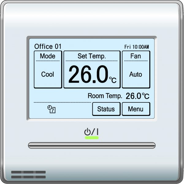 Fujitsu UTY-RNRYZ1 Touch Panel Wired Controller - Oceanair