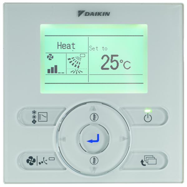 Daikin Optional Wired Remote Controller (BRC1E53 Style